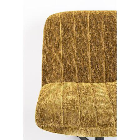 Belmond fauteuil Luzo - Rib Oker Geel