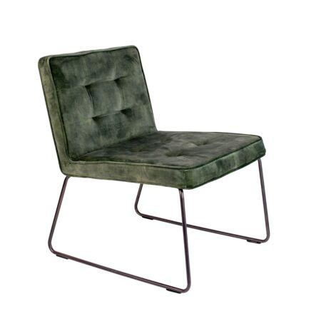 Clark fauteuil Luzo - Grijs Groen