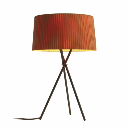 Tripode M3 tafellamp Santa & Cole mosterd raw