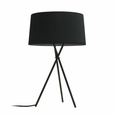 Tripode M3 tafellamp Santa & Cole zwart