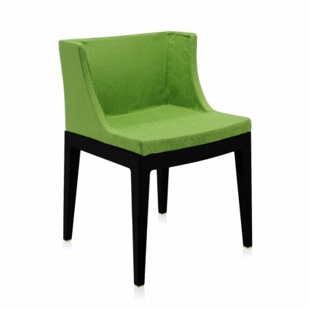 Mademoiselle stoel Kartell damast groen