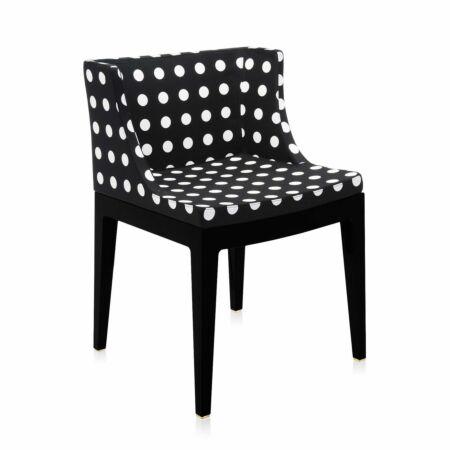 Mademoiselle stoel Kartell polkadot zwart