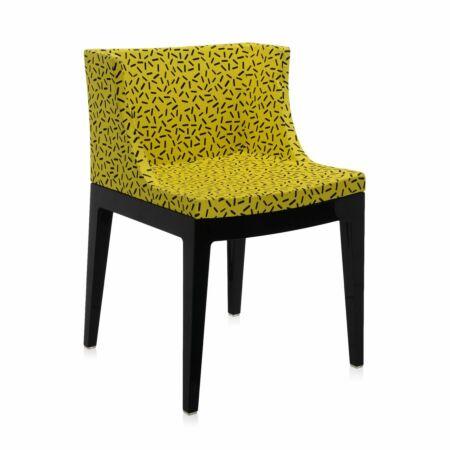 Mademoiselle Memphis stoel Kartell - Letraset geel