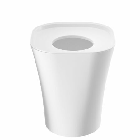 Trash prullenbak Magis groot wit 14L