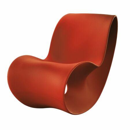 Voido schommelstoel Magis oranje