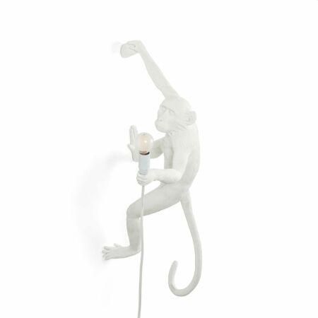 Monkey wandlamp Seletti rechts wit