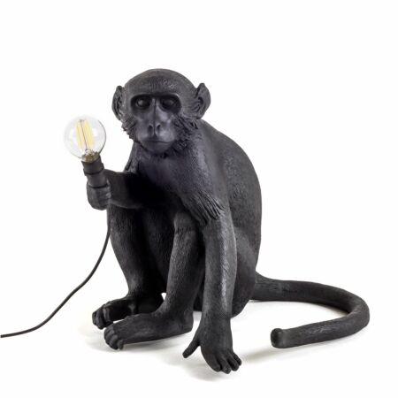 Monkey Outdoor tafellamp Seletti zwart