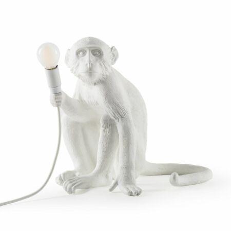 Monkey Outdoor tafellamp Seletti wit