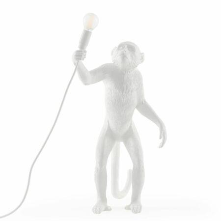 Monkey vloerlamp Seletti wit