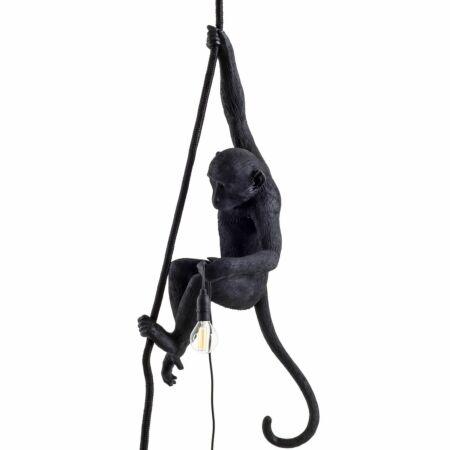 Monkey Outdoor hanglamp Seletti zwart