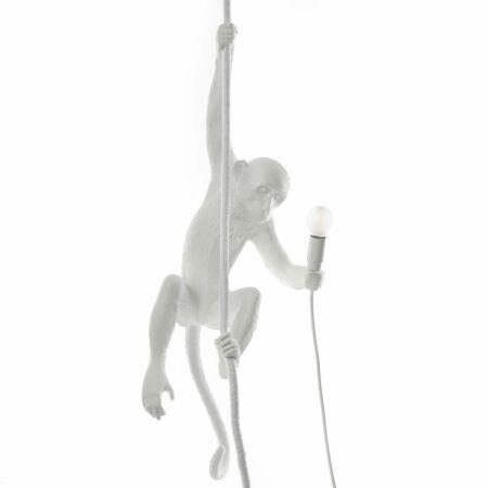 Monkey Outdoor hanglamp Seletti wit