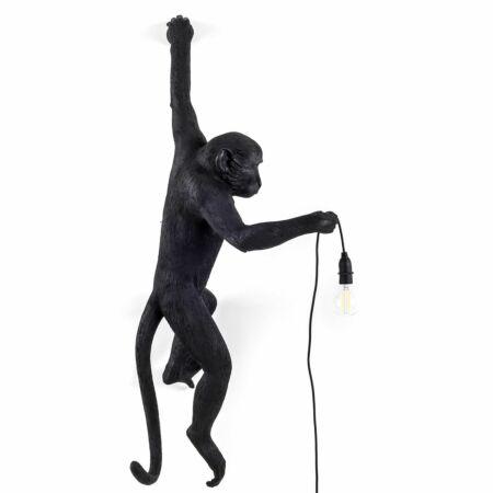 Monkey Outdoor wandlamp Seletti zwart