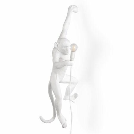 Monkey Outdoor wandlamp Seletti links wit