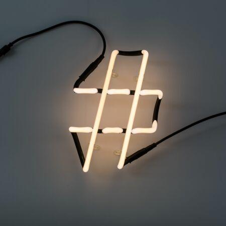 Neon Art letter Seletti #