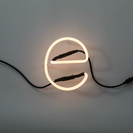 Neon Art letter Seletti E