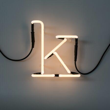 Neon Art letter Seletti K