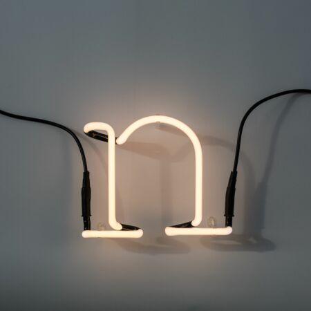 Neon Art letter Seletti N