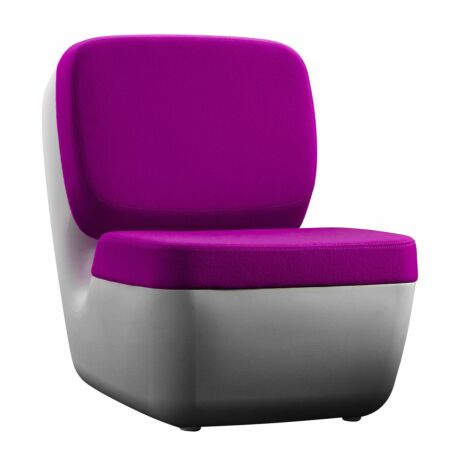 Nimrod fauteuil Magis paars