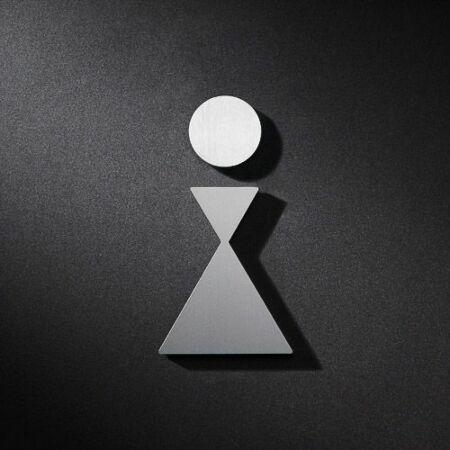 Vrouw pictogram Phos Design