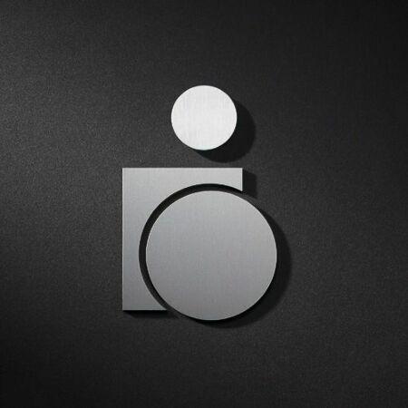 Rolstoelgebruiker pictogram Phos Design