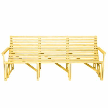 Patio bank Weltevree 4-zits geel