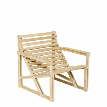 Patio fauteuil Weltevree naturel