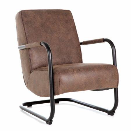 Pien fauteuil Eleonora bruin