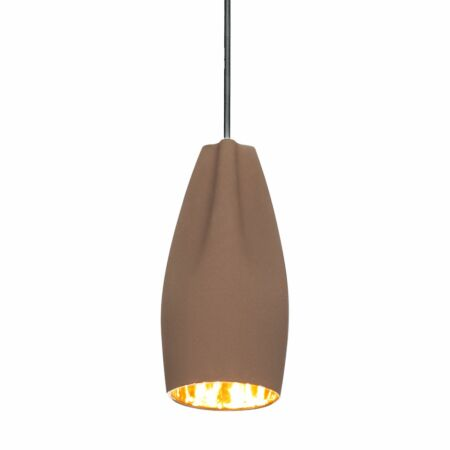 Pleat Box 13 hanglamp Marset bruin