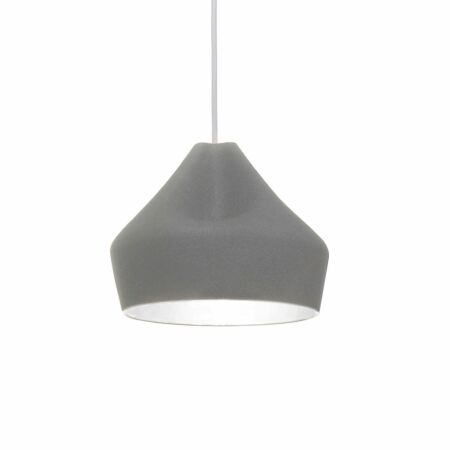 Pleat Box 24 hanglamp Marset wit - grijs