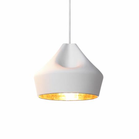 Pleat Box 24 hanglamp Marset goud - wit