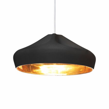 Pleat Box 36 hanglamp Marset zwart