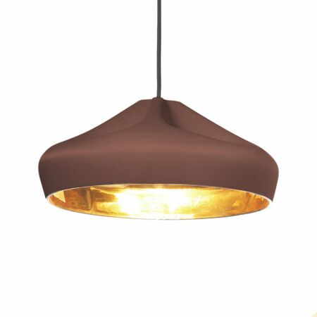 Pleat Box 36 hanglamp Marset terracotta