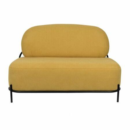 Polly bank Luzo 2-zits geel