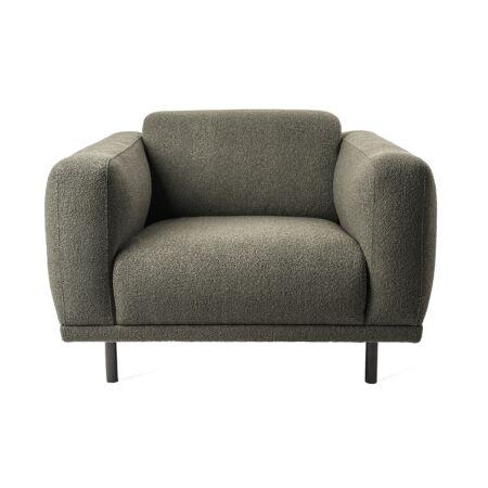 Teddy fauteuil Pols Potten - Olijf groen