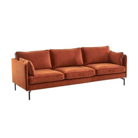 PPno.2 sofa XL Pols Potten roest rood