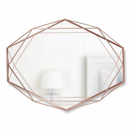 Prisma spiegel Umbra koper