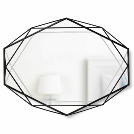 Prisma spiegel Umbra zwart