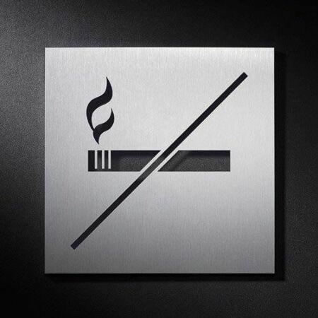 Niet Roken pictogram Phos Design vast