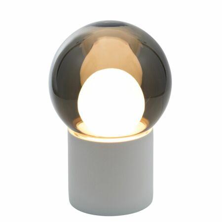 Boule vloerlamp Pulpo 82,5 grijs/opaal wit