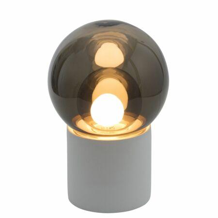Boule vloerlamp Pulpo 82,5 grijs/grijs wit