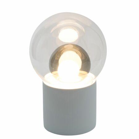 Boule vloerlamp Pulpo 82,5 transparant/grijs wit