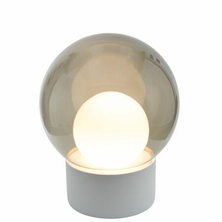Boule vloerlamp Pulpo 74 grijs/opaal wit