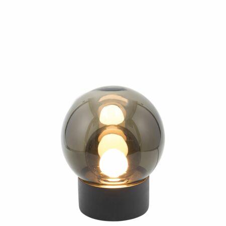 Boule vloerlamp Pulpo 74 grijs/grijs zwart