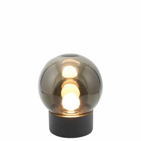 Boule tafellamp Pulpo 33,5 grijs/grijs zwart