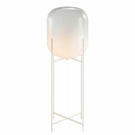 Oda vloerlamp Pulpo 140 opaal/wit