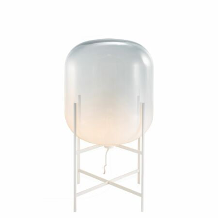 Oda vloerlamp Pulpo 85 opaal/wit