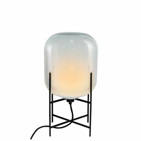 Oda tafellamp Pulpo 45 opaal/zwart