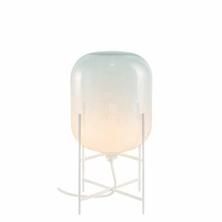 Oda tafellamp Pulpo 45 opaal/wit