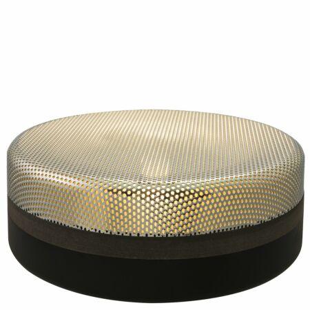 Steel Drop tafellamp Pulpo 13 chroom/zwart