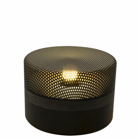 Steel Drop tafellamp Pulpo 15 zwart/zwart